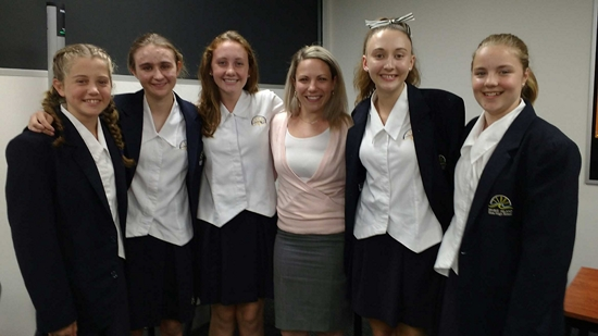 Debaters in the top four of Queensland competition
